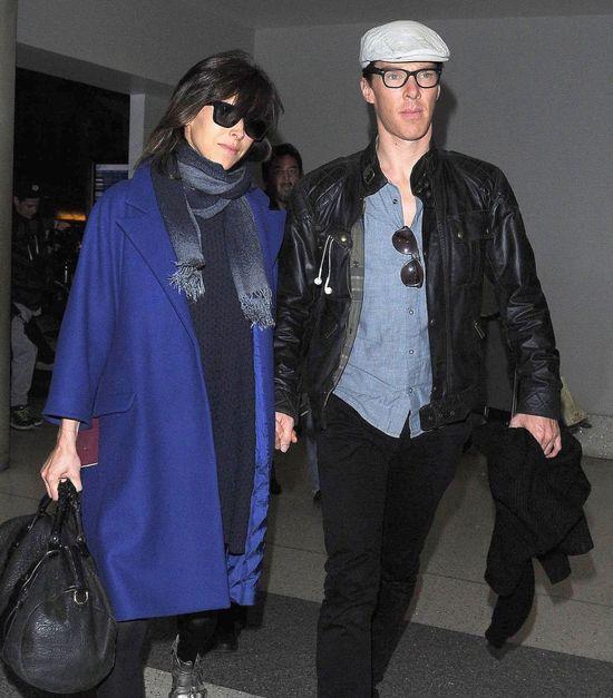 Benedict Cumberbatch przyłapany z ciężarną dziewczyną (FOTO)
