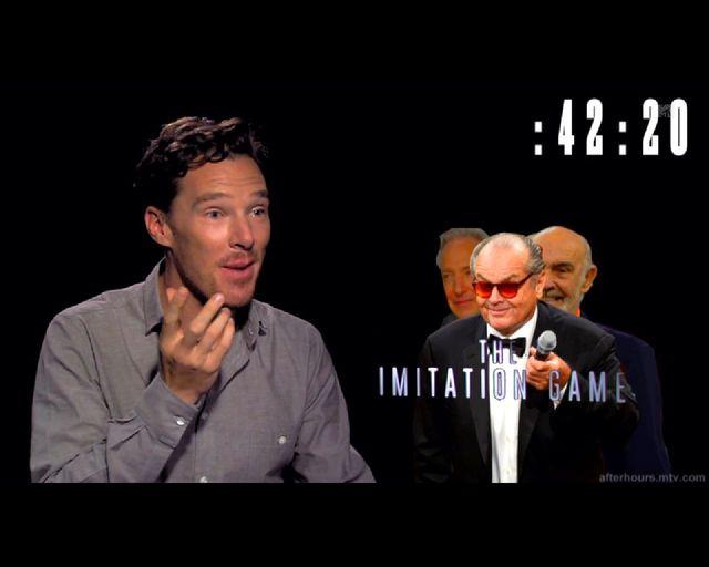 Genialne! Benedict Cumberbatch naśladuje 11 osób w 60 sekund