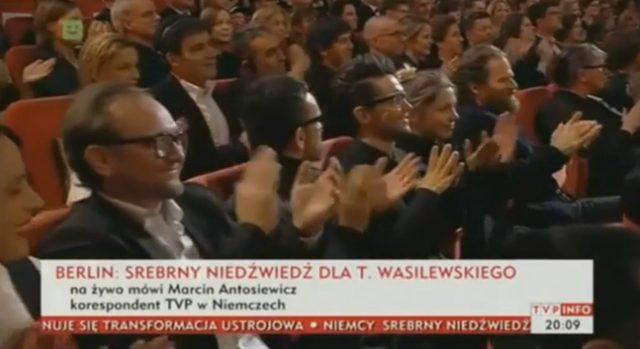 Srebrny nied�wied� dla Tomasza Wasilewskiego na Berlinare