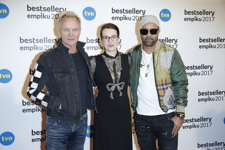 Bestsellery Empiku i dwie sensacje: Sting oraz... Roxi Gąska (ZDJĘCIA)