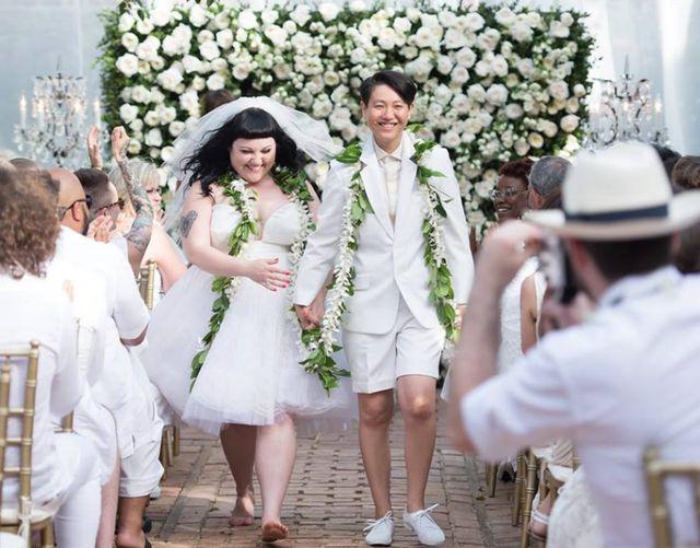 Beth Ditto ożeniła się! (FOTO)