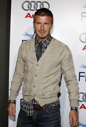 David Beckham wspomina