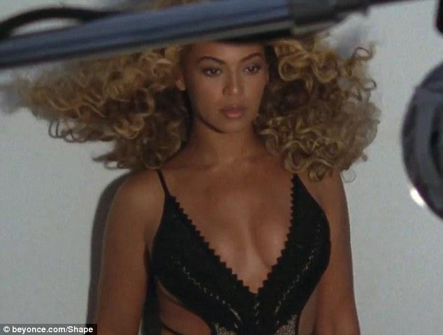 Video z sesji Beyonce dla magazynu Shape [VIDEO]
