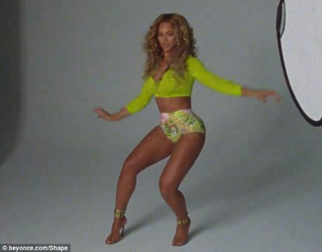 Video z sesji Beyonce dla magazynu Shape [VIDEO]