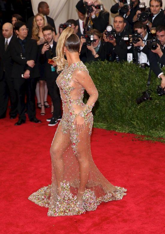 Beyonce na gali MET miała wyglądać całkiem inaczej