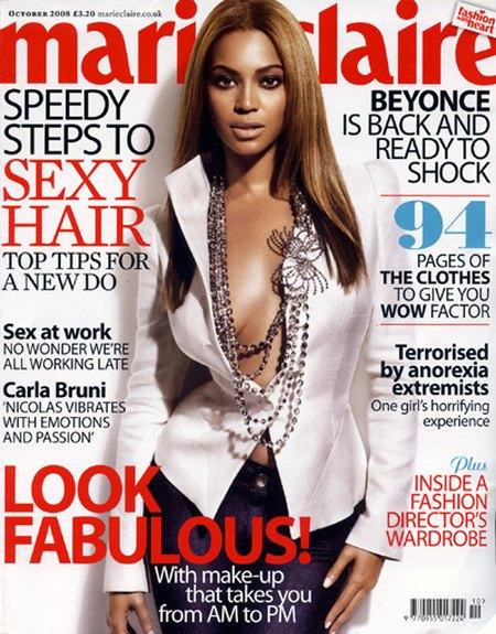 Beyonce: Uwielbiam eksperymentować z włosami