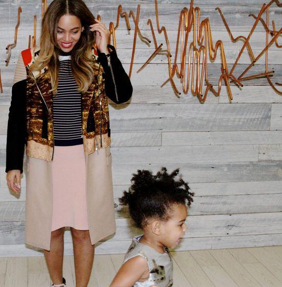 Beyonce znowu naraziła się Obrońcom Włosów Blue Ivy