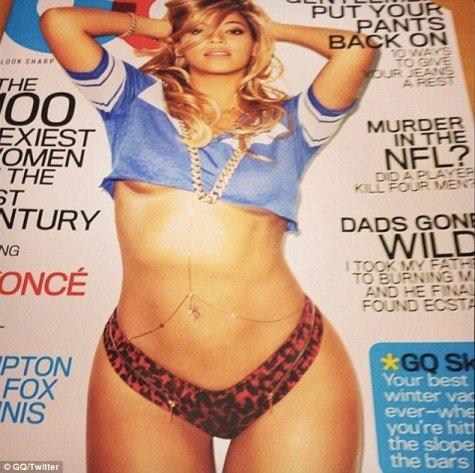 Wyciekła okładka GQ z Beyonce (FOTO)