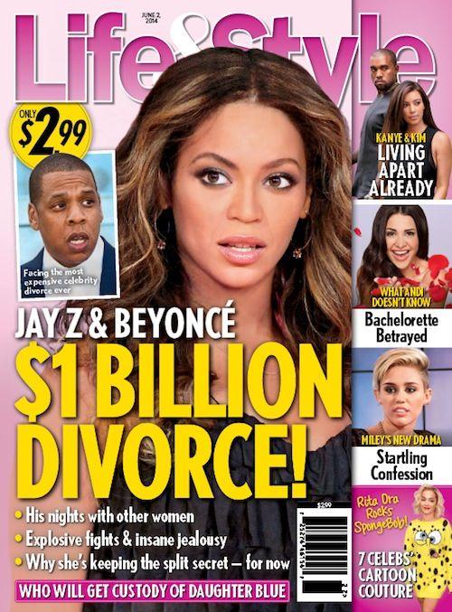 Rozwód Beyonce i Jaya Z jest nieunikniony