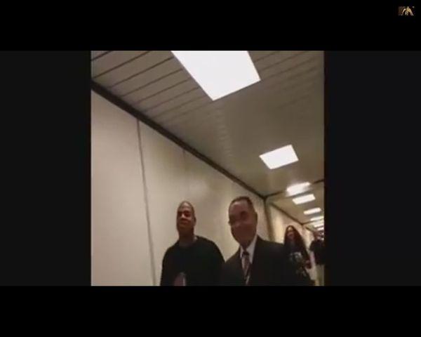Blue Ivy ucieka przed rodzicami [VIDEO]