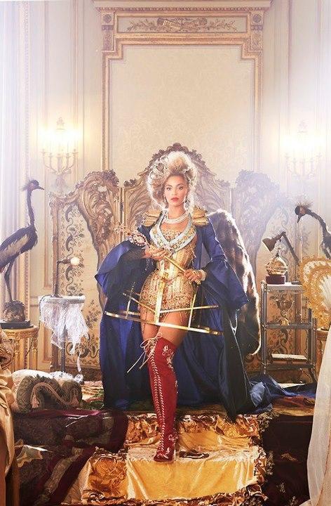 Wyciek�o tajemnicze zdj�cie Beyonce (FOTO)