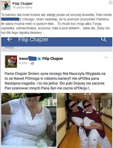 Filip Chajzer nie wytrzymał!