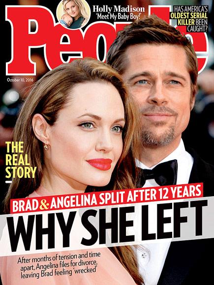 Jak Angelina Jolie powiedziała Pittowi o rozwodzie?