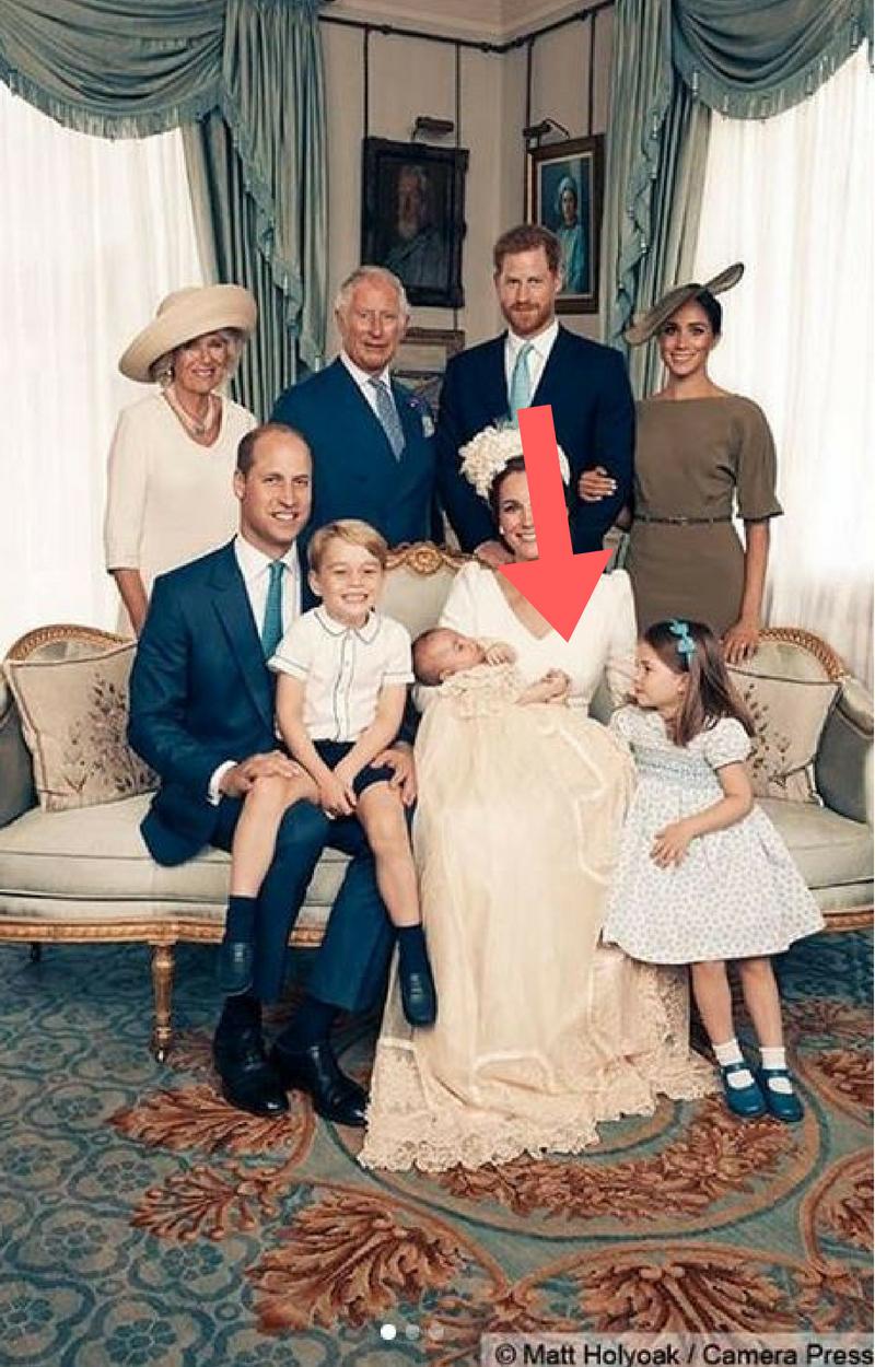Uroczy GEST księżniczki Charlotte podczas chrztu księcia Luisa