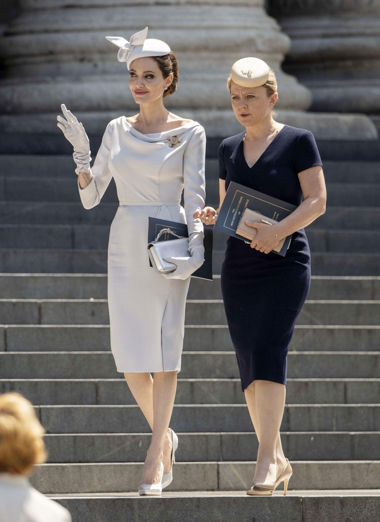 Angelina Jolie zwierzyła się księżnej Kate z bardzo osobistych przeżyć