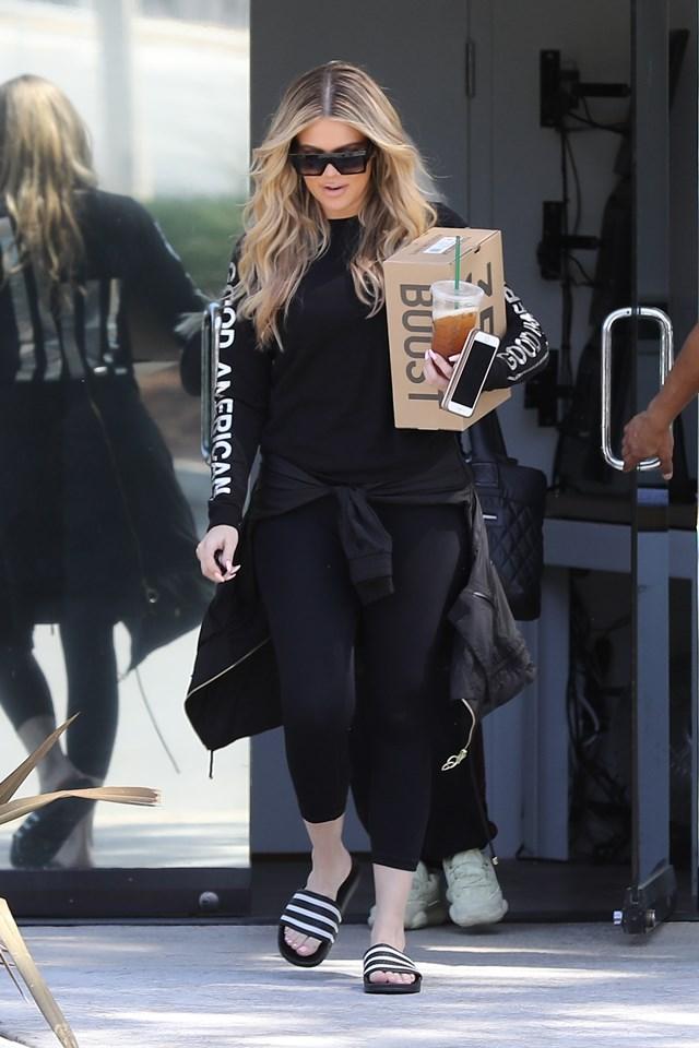 Pierwsze zdjęcia Khloe w Los Angeles! Rozpad związku jej służy?