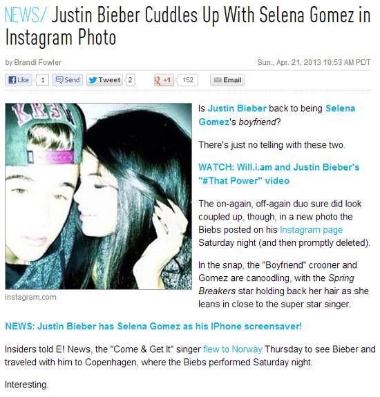 Selena Gomez wróciła do Justina Biebera?