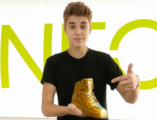 Justin Bieber został twarzą marki NEO Adidasa