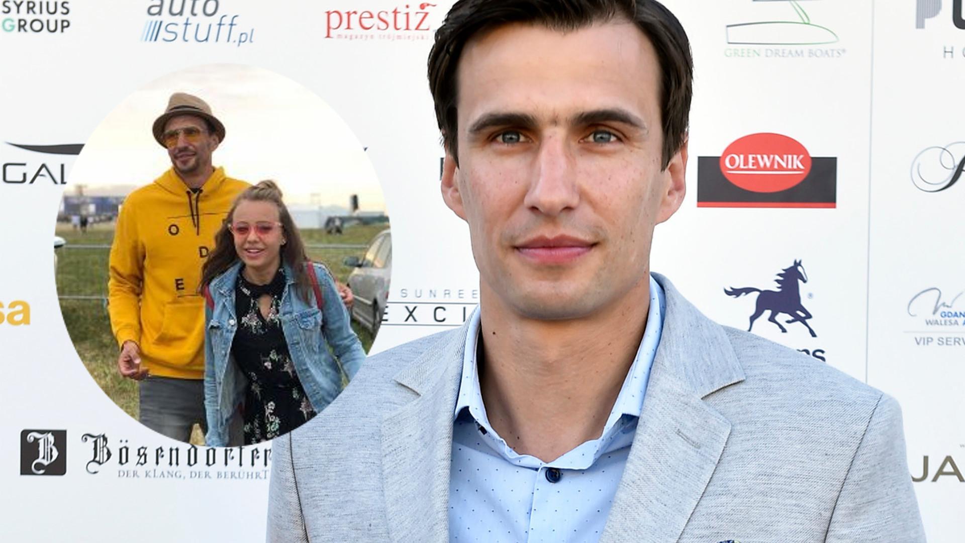 Jarosław Bieniuk z córką na Openerze: Ja współczuję Panu Tacie
