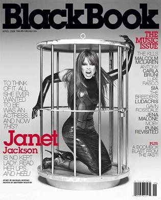 Janet Jackson w klatce