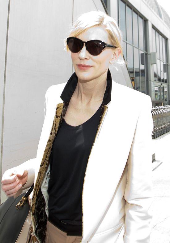 Cate Blanchett przed premierą najnowszego filmu (FOTO)