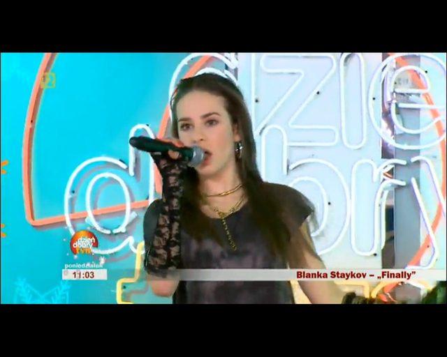 Blanka Staykov - śliczna buzia, a jaki głos? [VIDEO]