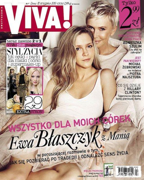 Córka Ewy Błaszczyk w Vivie: Nie chodzę smutna