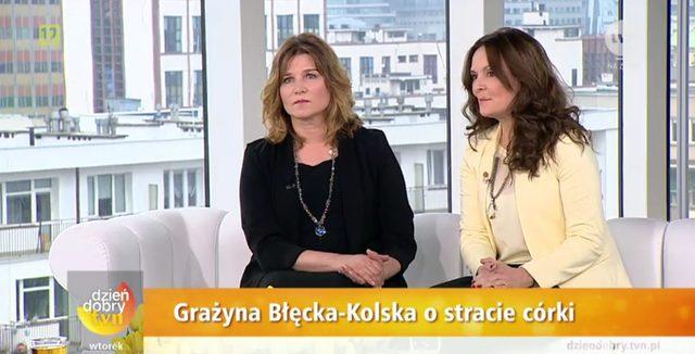 Grażyna Błęcka-Kolska: Trudno mówić o dziecku, którego nie ma