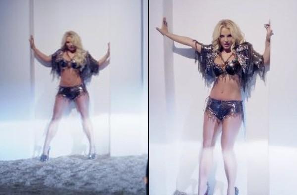 Jak bardzo wyretuszowano Britney w teledysku Work B*tch? (FO