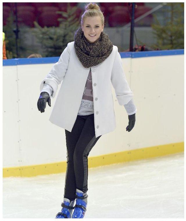 Agnieszka Kaczorowska ostro trenuje (FOTO)