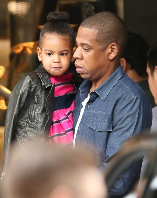 Beyonce ubiera c�rk� w zupe�nie innym stylu, ni� Kim Kardashian swoj� (INSTA)