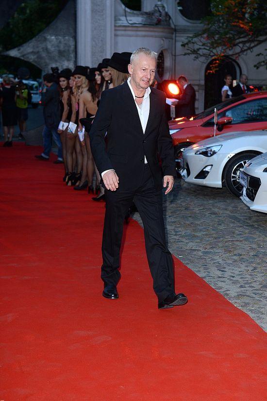 Bogusław Linda na imprezie Playboya z Bols Platinum (FOTO)