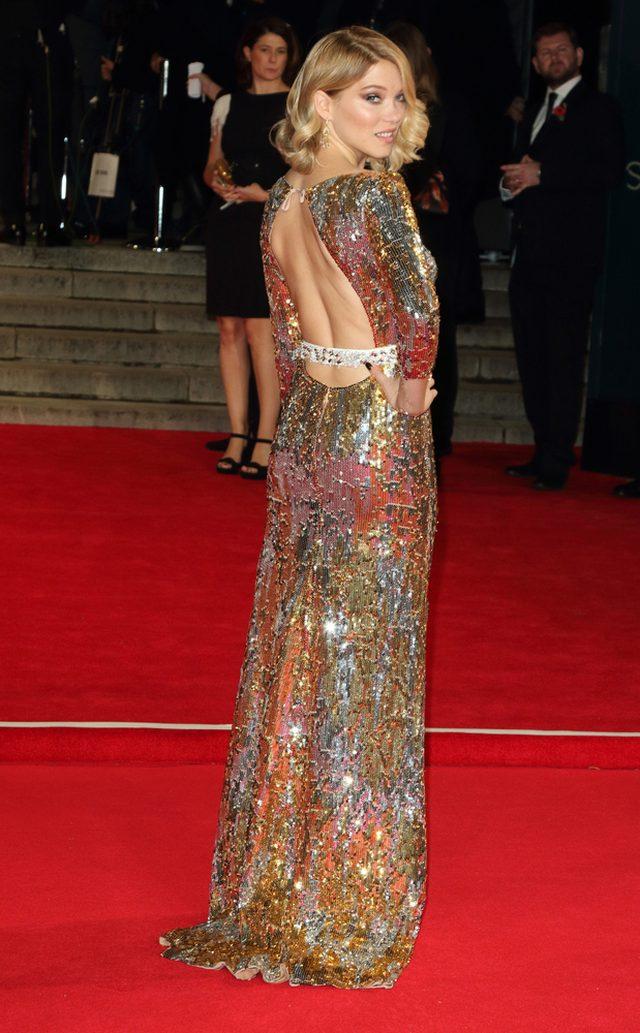 Bellucci, księżna Kate i Lea Seydoux na premierze Spectre
