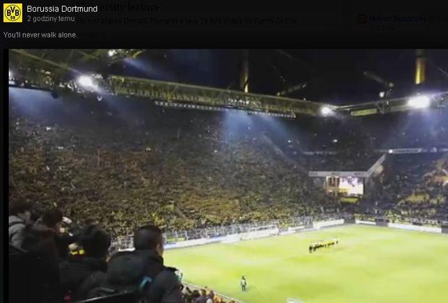 Dramat podczas meczu Borussi Dortmund [VIDEO]