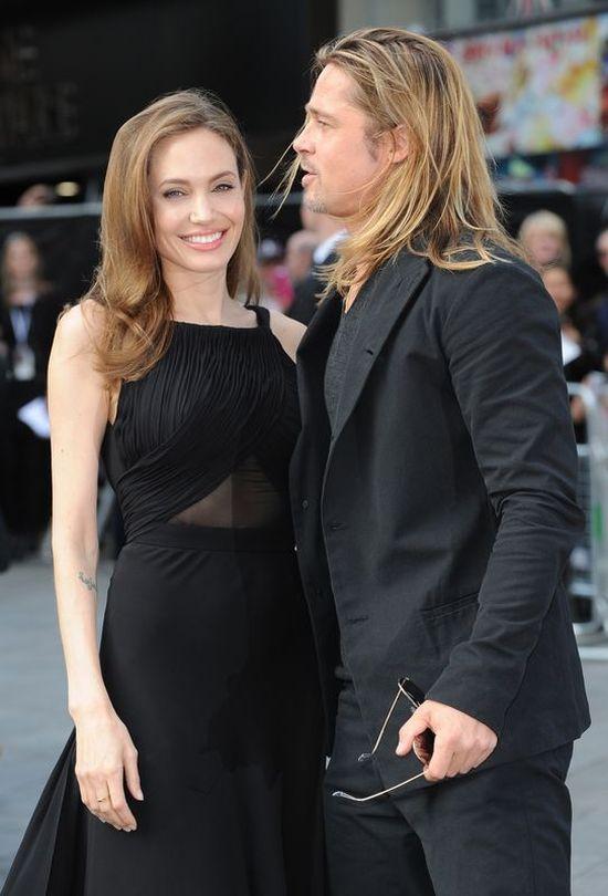 Angelina Jolie pierwszy raz publicznie po mastektomii VIDEO