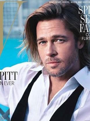 Brad Pitt w sesji dla magazynu W (FOTO)