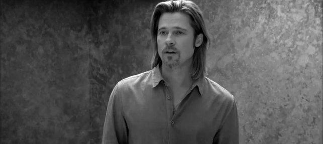 Brad Pitt dla Chanel – odsłona druga [VIDEO]