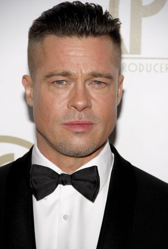 Nowa fryzura Brada Pitta (FOTO)
