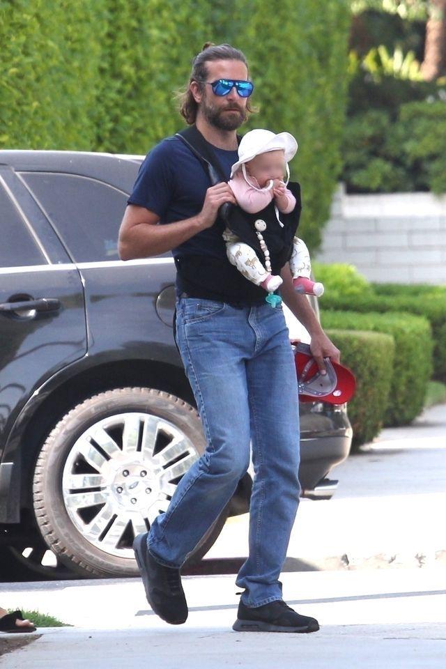 Mina Bradleya Coopera, gdy jego dziecko płacze, BEZCENNA!