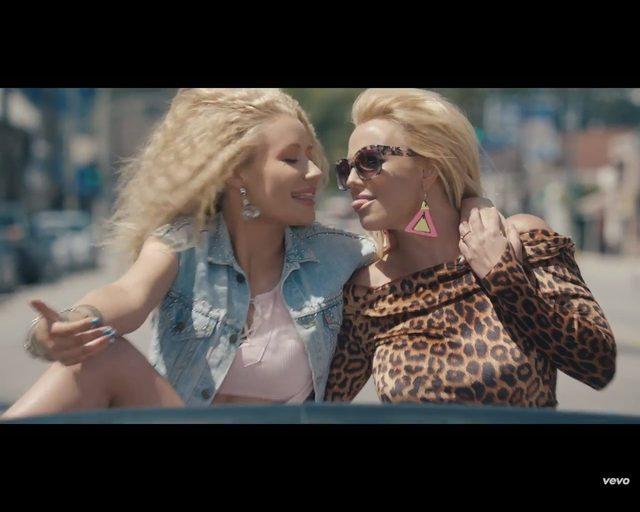 Britney Spears i Iggy Azalea w nowym klipie Pretty Girls