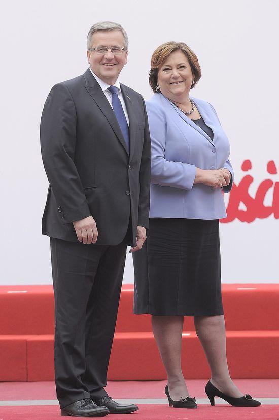 Żona Komorowskiego: Emigracja to NIE DRAMAT!