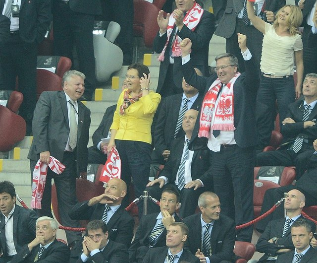 Mecz Polska-Rosja: co się działo na trybunach (FOTO)