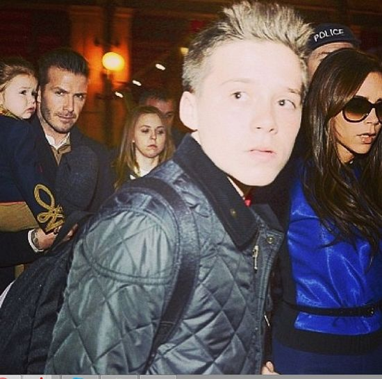 15-letni Brooklyn Beckham debiutuje jako model (FOTO)