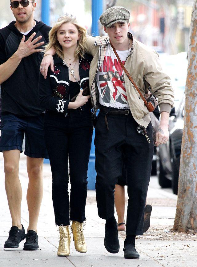Chloe Moretz znów szczęśliwa u boku Brooklyna Beckhama (ZDJĘCIA)
