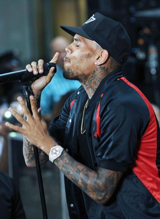 Karrueche Tran ssie język Chrisa Browna (FOTO)