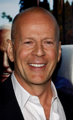 Bruce Willis ze swoją 5-tygodniową córeczką (FOTO)