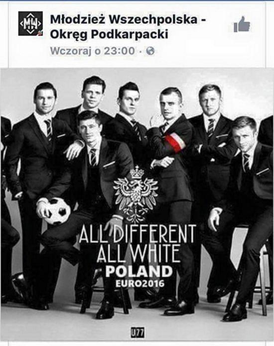 Euro 2016: Polska drużyna w cieniu rasistowskiego skandalu!