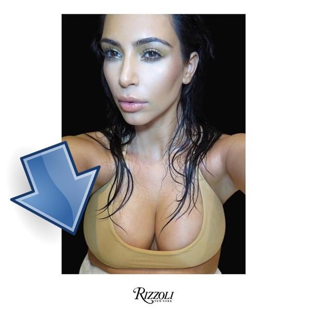 Kim Kardashian na swojej okładce ma wielką BUŁĘ (FOTO)