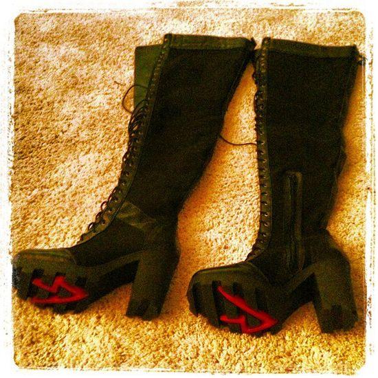 Doda dostała buty od Rihanny!