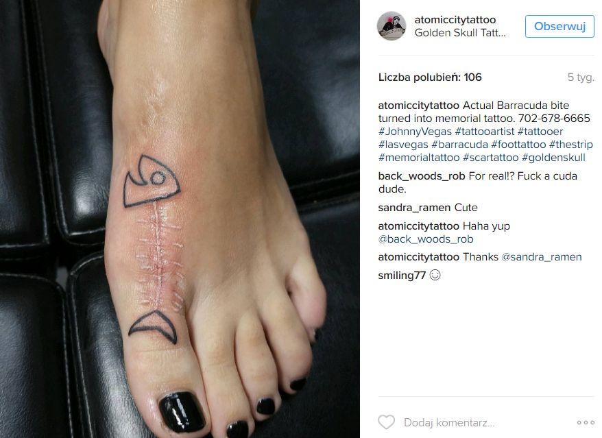 Tatuaże, które kamuflują blizny